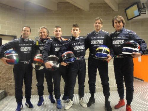 Giorgio Vinella 6 Ore Endurance Race Kart Vignate con Baroncini
