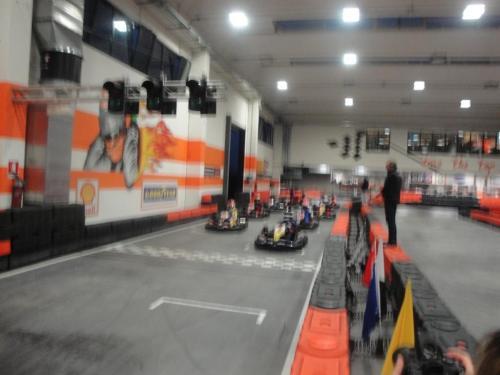 Giorgio Vinella 6 Ore Endurance Race Kart Vignate formation lap