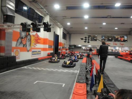 Giorgio Vinella 6 Ore Endurance Race Kart Vignate partenza lanciata