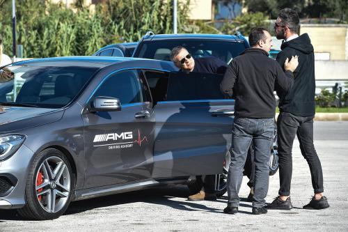 Giorgio Vinella evento AMG Maldarizzi Motoria Bari 2016 cambio auto