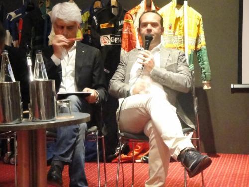 Giorgio Vinella evento Rotary Bari ospite serata con presidente Nicola Capriati