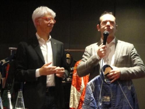 Giorgio Vinella evento Rotary Bari ospite serata con presidente Nicola Capriati dimostrazione