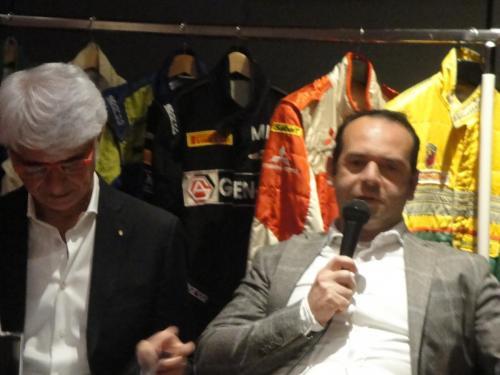 Giorgio Vinella evento Rotary Bari ospite serata con presidente Nicola Capriati intervista