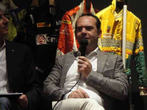 Giorgio Vinella evento Rotary Bari ospite serata con presidente Nicola Capriati racconto carriera