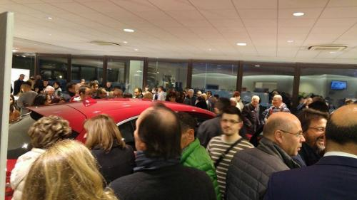 Giorgio Vinella evento Alfa Stelvio concessionaria In-Auto Putignano presentazione