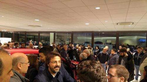 Giorgio Vinella evento Alfa Stelvio concessionaria In-Auto Putignano presentazione ospiti