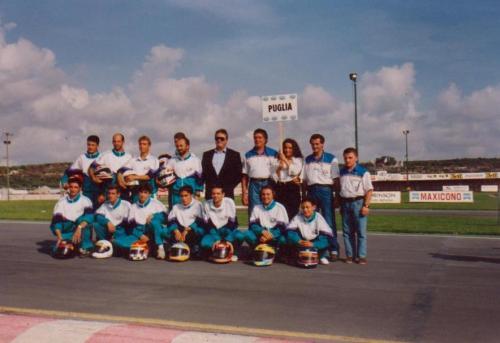 Giorgio Vinella Coppa Fik delle Regioni squadra Puglia Vittoria coppa 1993