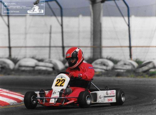 Go Kart anno 91-92  100cc nazionale - Giorgio Vinella 1175 0002