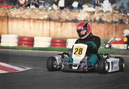 Go Kart anno 1990 100cc nazionale - Giorgio Vinella 1175 0003