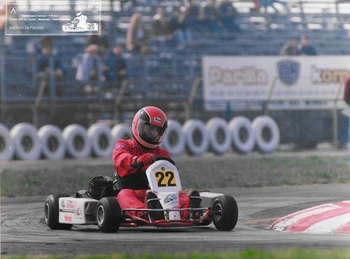 Go Kart anno 91-92 100cc nazionale - Giorgio Vinella