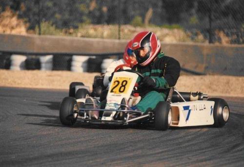 Go Kart degli anni 90 100cc nazionale - Giorgio Vinella