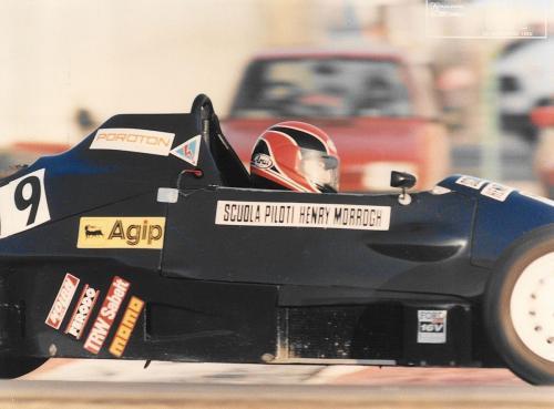 Formula Ford 1600 kent italian championship Giorgio Vinella Henry Morrogh 1