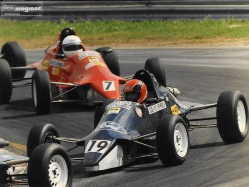 Formula Ford 1600 kent italian championship Giorgio Vinella Henry Morrogh 1993 Magione