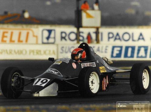 Formula Ford 1600 kent italian championship Giorgio Vinella Henry Morrogh 1993 Magione 1