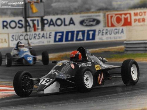 Formula Ford 1600 kent italian championship Giorgio Vinella Henry Morrogh 1993 Magione 2