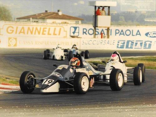 Formula Ford 1600 kent italian championship Giorgio Vinella Henry Morrogh 1993 Magione 3