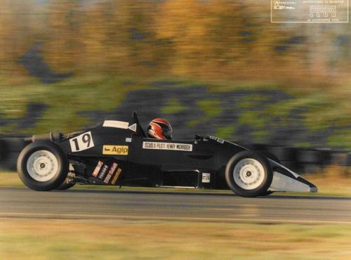 Formula Ford 1600 kent italian championship Giorgio Vinella Henry Morrogh 4