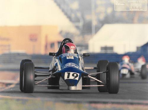 Formula Ford 1600 kent Giorgio Vinella Henry Morrogh 1