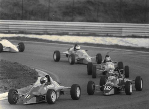 Formula Ford 1600 kent Giorgio Vinella Henry Morrogh 3