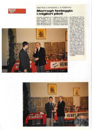Giorgio Vinella articolo Autosprint pilota promettente 1993