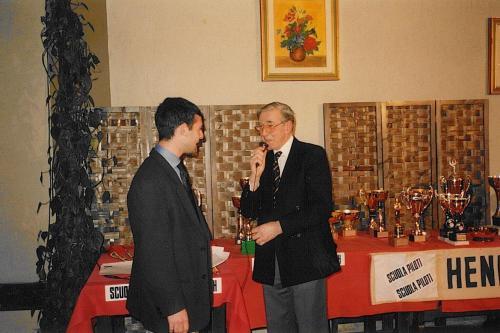 Giorgio Vinella premio Henry Morrogh pilota promettente 1993