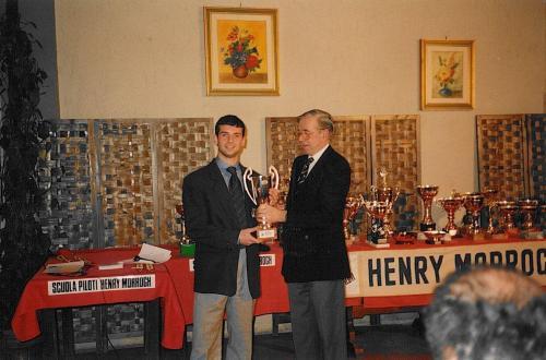 Giorgio Vinella premio Henry Morrogh pilota promettente 1993 2