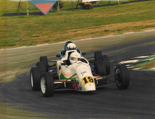 Giorgio Vinella Formula Ford 1800 Zetec British Championship 1994 Donington Park