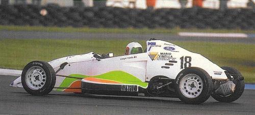 Giorgio Vinella Formula Ford 1800 Zetec British Championship 1994 Silverstone
