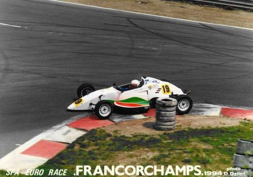 Giorgio Vinella Formula Ford 1800 Zetec European Championship Eurocup 1994 Spa francorchamps Bus Stop chicane Olympic Motorsport