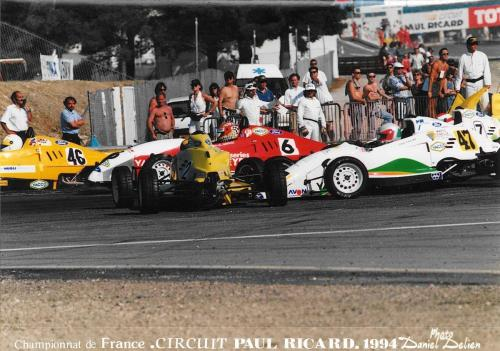 Giorgio Vinella Formula Ford 1800 Zetec French Championship 1994 Paul Ricard Olympic Motorsport first chicane