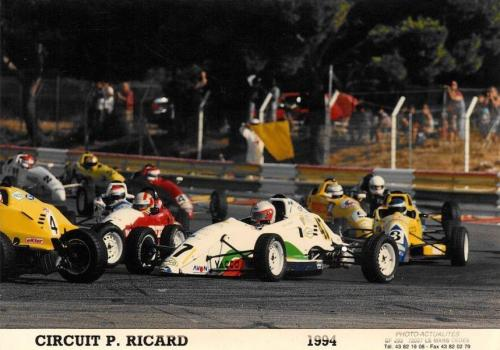 Giorgio Vinella Formula Ford 1800 Zetec French Championship 1994 Paul Ricard Olympic Motorsport first corner