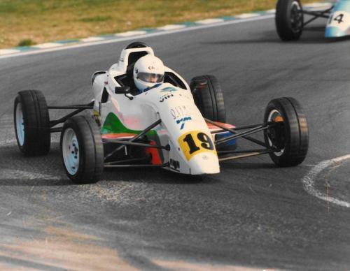 Giorgio Vinella Formula Ford 1800 Zetec British Championship 1994 Brands Hatch