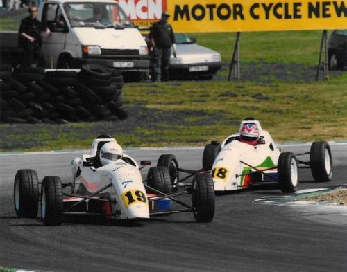Giorgio Vinella Formula Ford 1800 Zetec British Championship 1994 Oulton Park