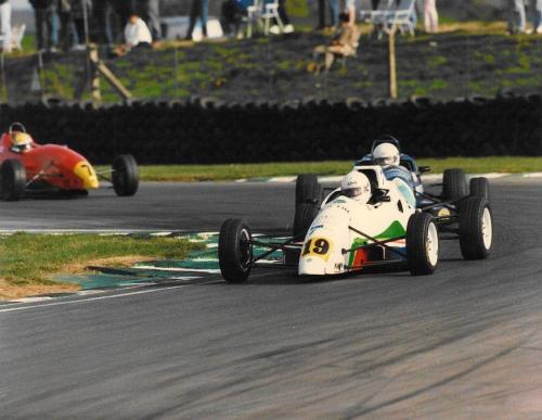 Giorgio Vinella Formula Ford 1800 Zetec British Championship 1994 Snetterton