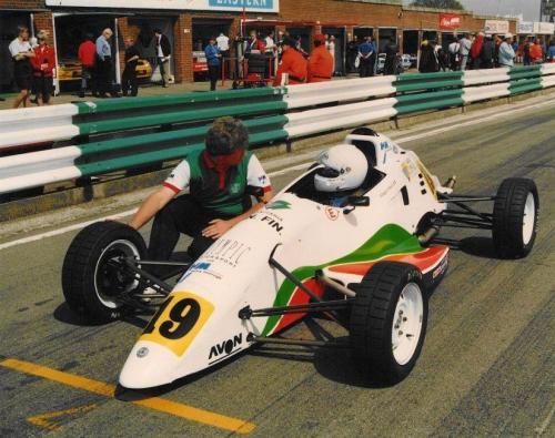Giorgio Vinella Formula Ford 1800 Zetec British Championship 1994 Snetterton griglia di partenza