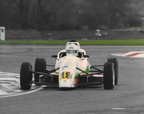 Giorgio Vinella Formula Ford 1800 Zetec British Championship 1994 Thruxton