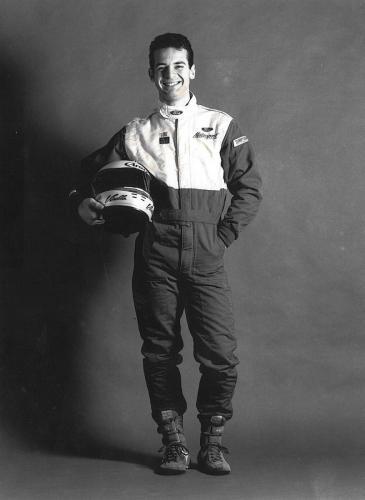 Giorgio Vinella Formula Ford 1800 Zetec British Championship 1994 foto per riviste sportive