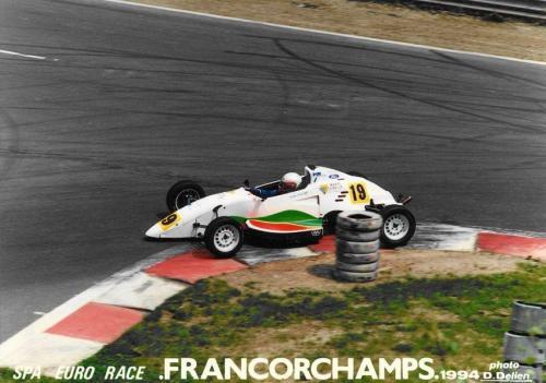 Giorgio Vinella Formula Ford 1800 Zetec Campionato Europeo Eurocup 1994 Spa francorchamps Bus Stop Olympic Motorsport
