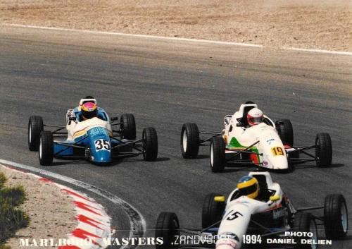 Giorgio Vinella Formula Ford 1800 Zetec Campionato Europeo Eurocup 1994  Zandvoort Marlboro masters Olympic Motorsport curva Tarzan