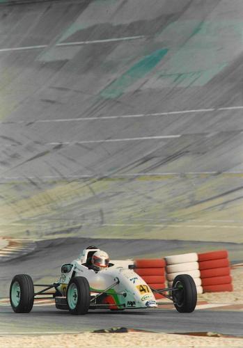 Giorgio Vinella Formula Ford 1800 Zetec Campionato Francese 1994 Montlhery