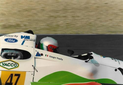 Giorgio Vinella Formula Ford 1800 Zetec Campionato Francese 1994 Montlhery Olympic Motorsport