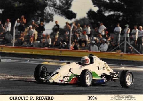 Giorgio Vinella Formula Ford 1800 Zetec Campionato francese 1994 Paul Ricard Olympic Motorsport chicane